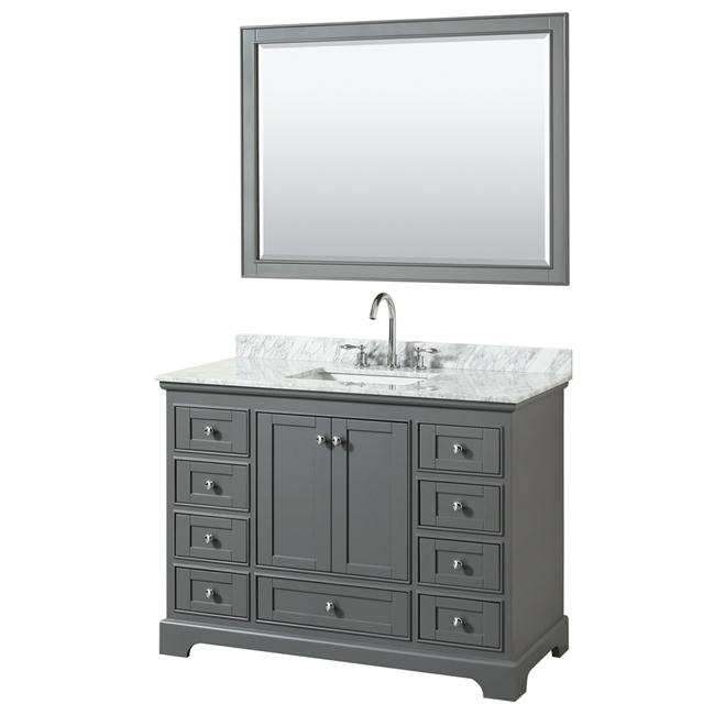"""Deborah 48"""" Single Bathroom Vanity by Wyndham Collection ..."""