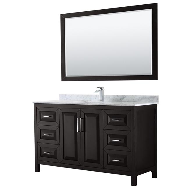 "Daria 60"" Single Bathroom Vanity by Wyndham Collection ..."